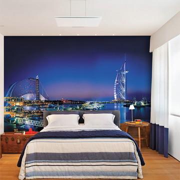 Papel de Parede 3D Cidade Dubai 0004