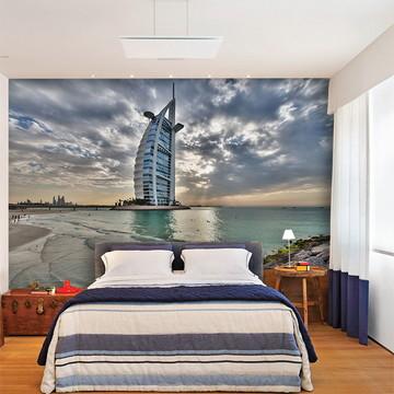 Papel de Parede 3D Cidade Dubai 0005