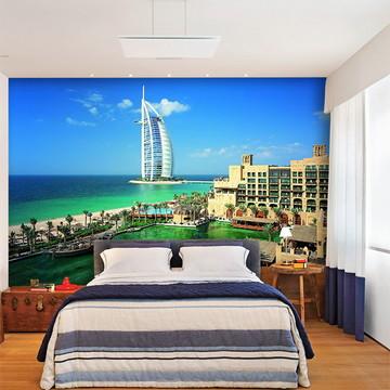 Papel de Parede 3D Cidade Dubai 0006