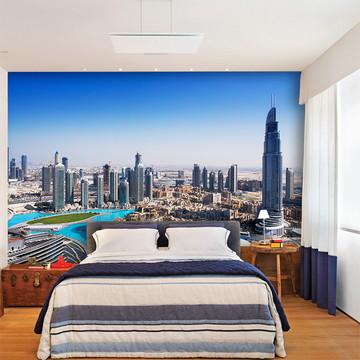 Papel de Parede 3D Cidade Dubai 0007