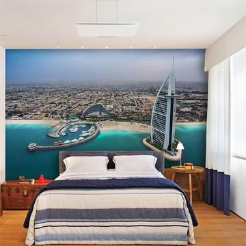Papel de Parede 3D Cidade Dubai 0008