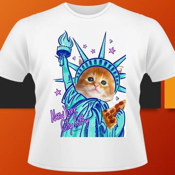 Camiseta Pets Cachorros e gatos (adulto e infantil) #185