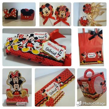 Arquivo Digital De Corte Silhouette - Mickey e Minnie Vermel