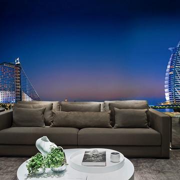 Papel de Parede Cidade Dubai 0004 - Adesivo de Parede