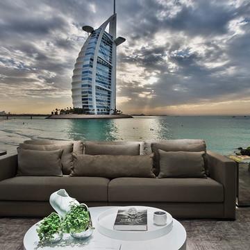 Papel de Parede Cidade Dubai 0005 - Adesivo de Parede