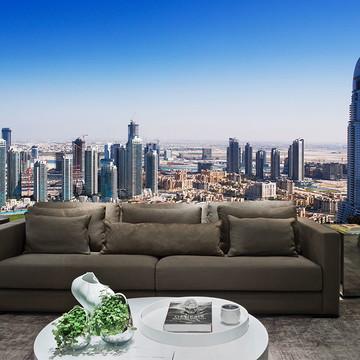 Papel de Parede Cidade Dubai 0007 - Adesivo de Parede
