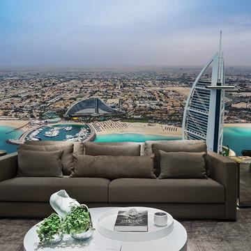 Papel de Parede Cidade Dubai 0008 - Adesivo de Parede