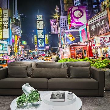 Papel de Parede Cidade Nova York 0003 - Adesivo de Parede