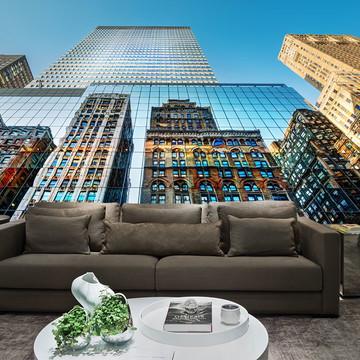 Papel de Parede Cidade Nova York 0005 - Adesivo de Parede