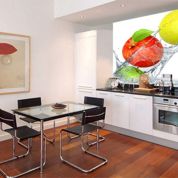 Papel de Parede 3D para Cozinha 0008 - Adesivo de Parede