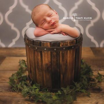 Baldinho Madeira Rústica Newborn