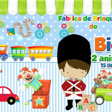 revista colorir fábrica de brinquedos 14x10