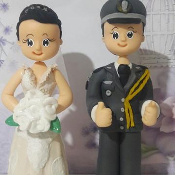 Topo de bolo casamento personalizado