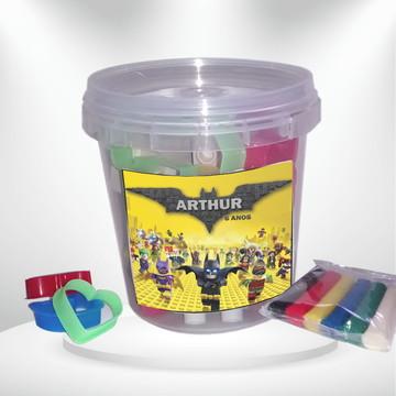 Kit massinha Batman Lego