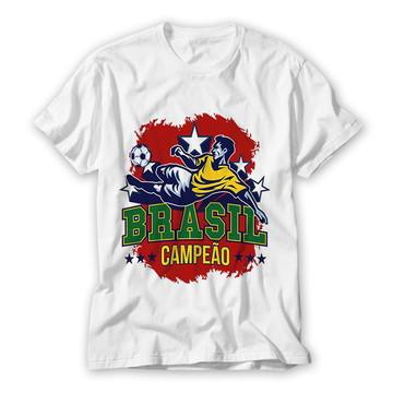 Camiseta Brasil Campeão