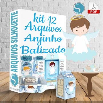 arquivos silhouette Anjinho Batizado
