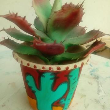 Vasinho decorativo - Cactos