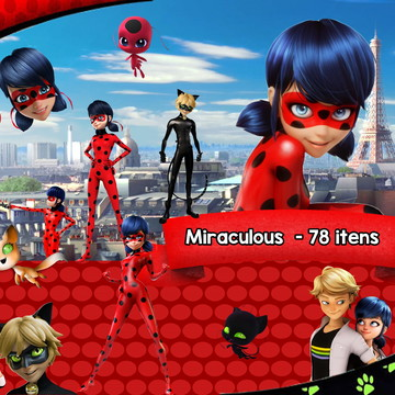 Kit Scrapbook digital - Miraculous