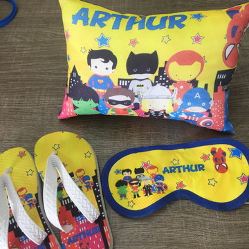 Kit Festa do Pijama herois