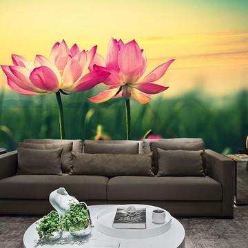 Papel de Parede para Sala 0022 - Papel de Parede de Flores