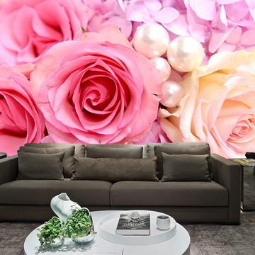 Papel de Parede para Sala 0024 - Papel de Parede de Flores