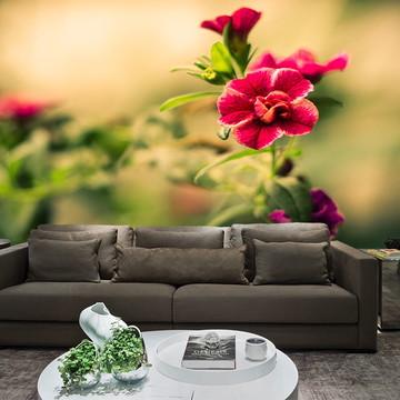 Papel de Parede para Sala 0026 - Papel de Parede de Flores