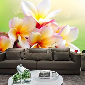 Papel de Parede para Sala 0029 - Papel de Parede de Flores