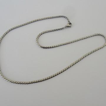 Corrente Aço Cirúrgico - Elos em S - 40 cm