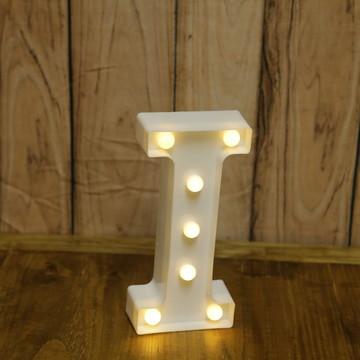 Luminária de Letras de Led 3D - Letra I