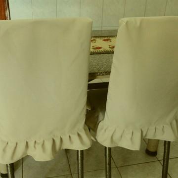 Capa para cadeira de jogo de jantar