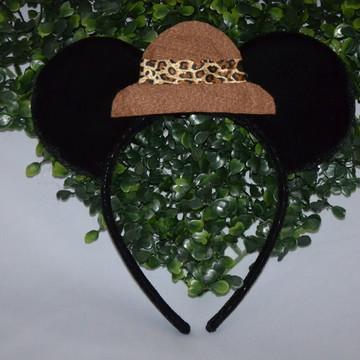 Orelha Luxo Mickey Safari