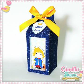 Caixa Milk 3D Pequeno Príncipe