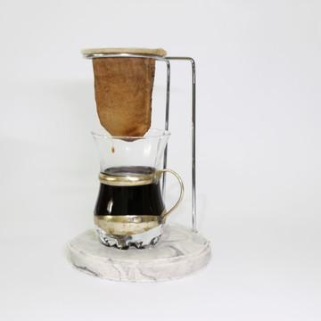 Coador de café Toque de cor Marmorizado