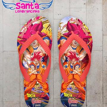 Chinelo Dragon Ball Super Goku Super Sayajin Deus