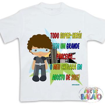 Camiseta Irmão Mais Velho Super Herói Linda!!!