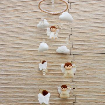 Mobiles Anjos para Batizado