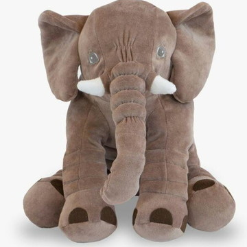 Almofada Travesseiro Elefante de Plush 45cm.