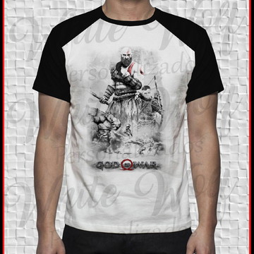 Camiseta do Kratos