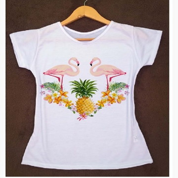 5e94710f05 T Shirt Regata Flamingo