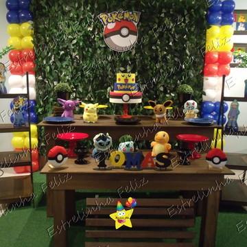 Locação decoração pokémon