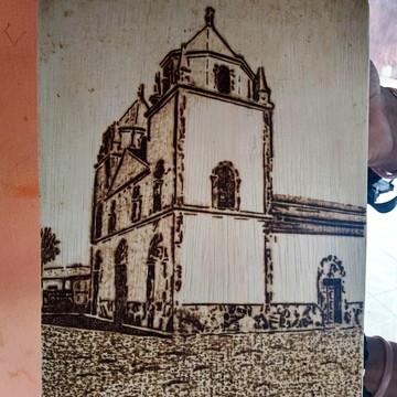 Igreja de Luís correia pirografada