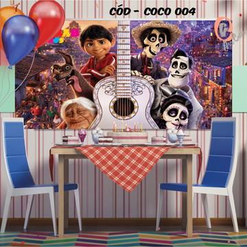 Painel festa decoração coco