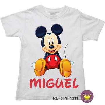 Camiseta Infantil Mickey Mouse 02