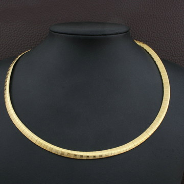 GARGANTILHA de aço inox Dourada