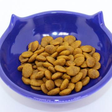 Comedouro de Gato Orelhas - Azul Marinho