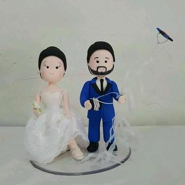 Topo do bolo casamento topo do bolo personalizado topo com p