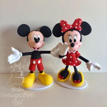 Enfeite de mesa Mickey / Minnie - Locação