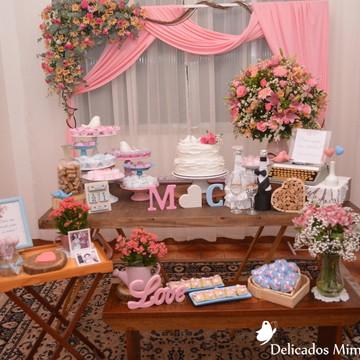 Decoração Tema Mini Wedding