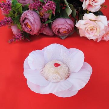 Forminha de doce Camélia branca (FRETE GRATIS)