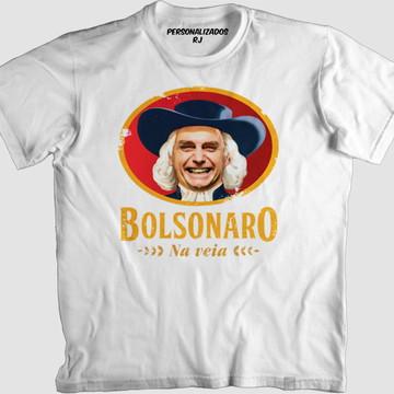 Camisa BOLSONARO NA VEIA